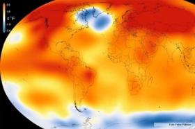 INFORME DE LA NASA: LA TEMPERATURA DEL PLANETA EN 2015 FUE LA MÁS ALTA DE LOS ÚLTIMOS 136 AÑOS