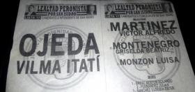 Internas del PJ: Vilma Ojeda encabeza la lista Lealtad Peronista Por San Isidro