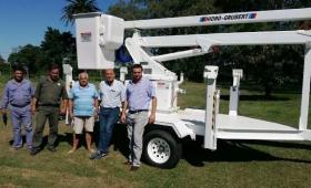 Carolina: El municipio presento un hidroelevador