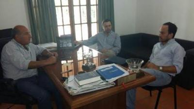 El intendente Marcelo Nocetti se reunió con Mariano Hormaechea