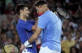Del Potro cayó ante Djokovic y quedó afuera en Acapulco