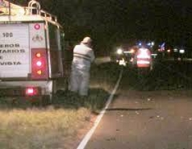 Ruta Provincial N° 27: Un hombre murió en un choque cerca de Bella Vista