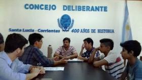 ARTICULACIÓN DE GESTIONES: Equipos de Juventud de los Municipios de Goya y Santa Lucía proyectan trabajo conjunto
