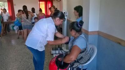 El Hospital Goya realiza operativos integrales de salud en barrios del Sur