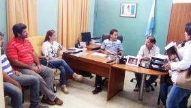 La UOCRA Goya pidió gestiones ante Nación y Provincia a concejales para activar la obra pública