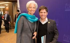 ELECCIONES: Mientras Scioli ataca al FMI, Kicillof se saca una foto con Lagarde