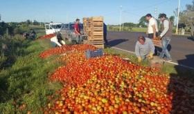 Horticultores de Santa Lucía se reúnen con Buryaile y Frigerio