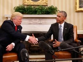 """Donald Trump a Barack Obama: """"Quisiera recibir sus consejos durante mi presidencia"""""""