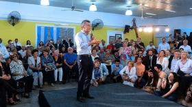 """Tras la polémica, Macri participó de un acto con jubilados: """"El nuevo índice supera a la inflación"""""""