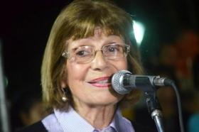 Inauguración de la Plaza San Martín: Eloisa Romero de Arce habló en nombre de los vecinos