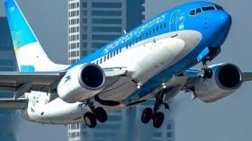 Aerolíneas Argentinas alcanzó su récord histórico de pasajeros transportados en enero