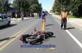 Falleció en el Hospital de Goya el joven motociclista accidentado el martes en Esquina