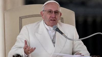 Francisco denunció que el mundo vive una grave crisis socio ambiental