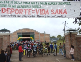 SE CORRIO EN CAROLINA LA 3RA FECHA DEL PROVINCIAL DE RALLY BIKE